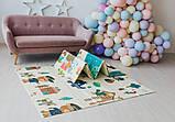 Дитячий двосторонній складаний килимок POPPET Лісові жителі і Добрі сусіди, 150х180х1 см PP008-150), фото 10
