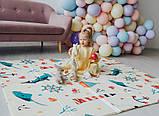 Детский двусторонний складной коврик POPPET Морской сезон и Зимние совушки, 150х180x1 см (PP007-150), фото 10