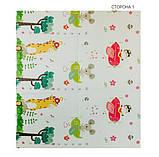 Дитячий двосторонній складаний килимок POPPET Транспорт і Зоолетчики, 200х180х1 см (PP005-200), фото 3