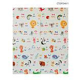 Дитячий двосторонній складаний килимок POPPET Світ тварин і Графічний космос, 150х180х1см (PP004-150), фото 3