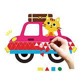 Набор для творчества AVENIR аппликация-мозаика Машины, 600 элементов, фото 9