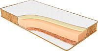 Ортопедический матрас спальный Релакс мемори кокос беспружинный на кровать высота 20 см двусторонний
