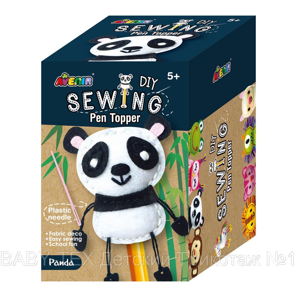 Набор для творчества AVENIR шитье топпера для ручки Панда
