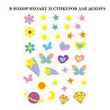 Набір для творчості, скретч-арт AVENIR Єдиноріг, 4 скретч-листа, фото 5