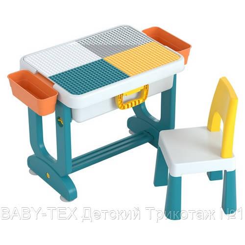 Детский многофункциональный столик POPPET Трансформер 6 в 1 и стульчик
