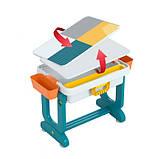 Детский многофункциональный столик POPPET Трансформер 6 в 1 и стульчик, фото 3