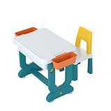 Багатофункціональний дитячий столик POPPET Трансформер 6 в 1 і стільчик, фото 4