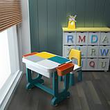 Детский многофункциональный столик POPPET Трансформер 6 в 1 и стульчик, фото 7