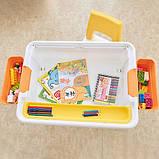 Детский многофункциональный столик POPPET Трансформер 6 в 1 и стульчик, фото 9