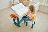 Детский многофункциональный столик POPPET Трансформер 6 в 1 и стульчик, фото 10