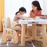 Детский функциональный столик POPPET Классик и два стульчика, фото 3