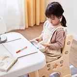Детский функциональный столик POPPET Классик и два стульчика, фото 5