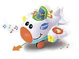 Музыкальная игрушка Keenway Веселый самолет БРАК УПАКОВКИ, фото 2