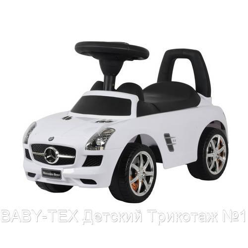 Толокар Mercedes-Benz SLS AMG лицензия, белый
