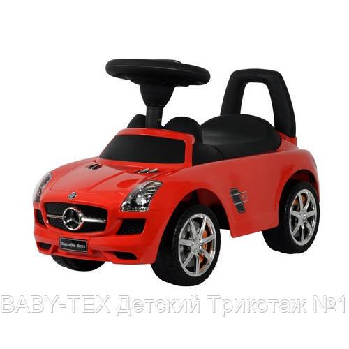 Толокар Mercedes-Benz SLS AMG лицензия, красный