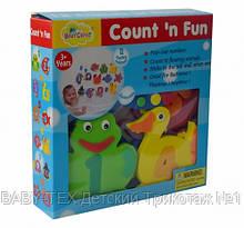 Дитячі аква-пазли Baby Great Морсикие жителі і циферки, 12 іграшок ШЛЮБ УПАКОВКИ