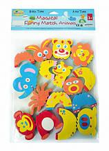Дитячі аква-пазли Baby Great Смішні тварини, 8 іграшок