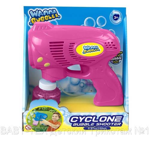 Мильні бульбашки Wanna Bubbles Турбо мылемет, 150 мл, рожевий