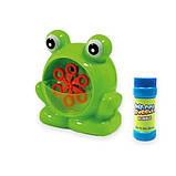 Мыльные пузыри Wanna Bubbles Баббл генератор Зеленый лягушенок, 50 мл, фото 4