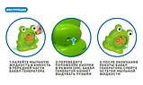 Мыльные пузыри Wanna Bubbles Баббл генератор Зеленый лягушенок, 50 мл, фото 8