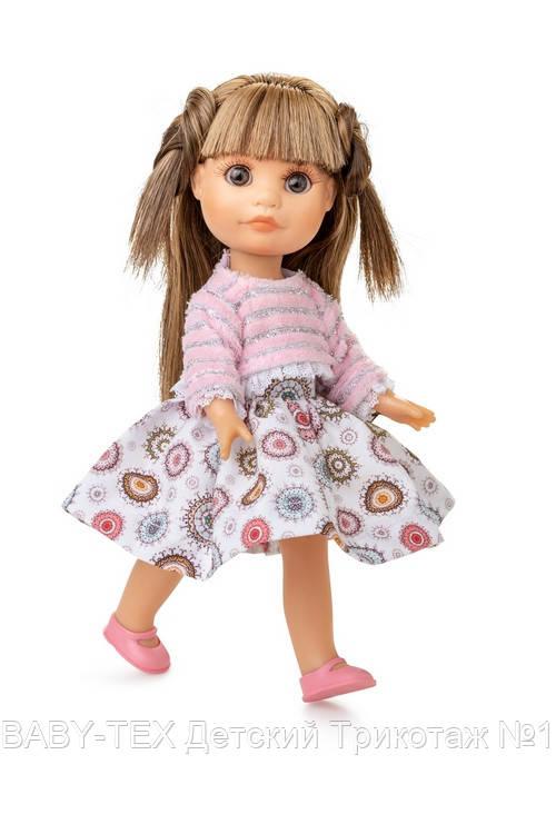 Лялька Berjuan Люсі в рожевому светрі 22 см
