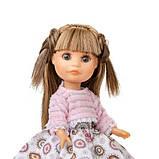 Лялька Berjuan Люсі в рожевому светрі 22 см, фото 2