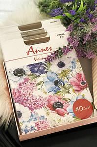 Колготы женские бежевые размер 3 Annes 40 den 119278P