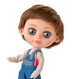 Кукла Berjuan Biggers Эндо Гримальди 32 см БРАК УПАКОВКИ, фото 2