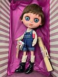 Кукла Berjuan Biggers Эндо Гримальди 32 см БРАК УПАКОВКИ, фото 3