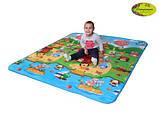 Дитячий двосторонній килимок Limpopo Сонячний день і Кольорові циферки, 120х180 см, фото 4