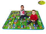 Детский двухсторонний коврик Limpopo Солнечный день и Цветные циферки, 120х180 см, фото 6