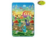 Дитячий двосторонній килимок Limpopo Динозаври і Підводний світ, 120х180 см, фото 3