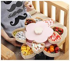 Універсальний органайзер для солодощів Candy Box 2 ярусу менажниця, фото 3