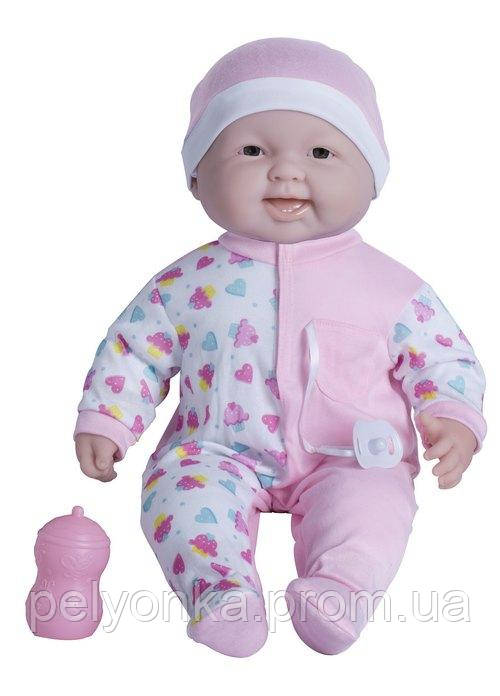 Пупс-великан JC Toys Весельчак в розовой шапочке, мягкий, 51 см БРАК УПАКОВКИ