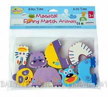 Дитячі аква-пазли Baby Great Смішні тварини, 4 іграшки ШЛЮБ УПАКОВКИ