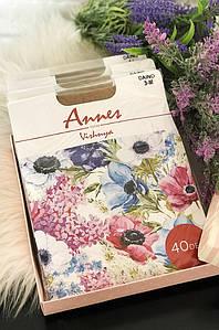 Колготы женские натуральные размер 3 Annes 40 den 119253P