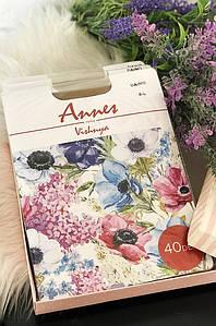 Колготы женские натуральные размер 4 Annes 40 den 119254P
