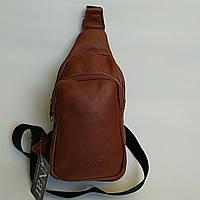 Рюкзак-слинг размер 25х17х12 натуральная кожа, фото 1