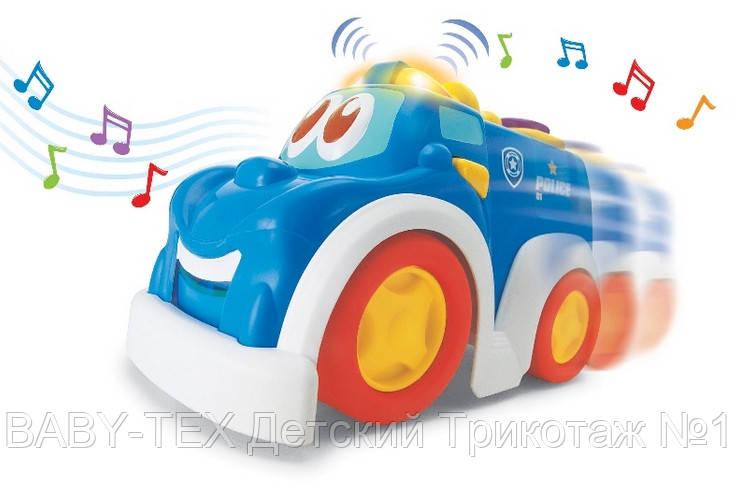 Полиция Keenway, машинка музыкальная БРАК УПАКОВКИ
