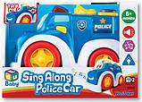 Полиция Keenway, машинка музыкальная БРАК УПАКОВКИ, фото 2