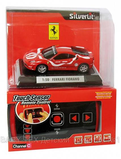 Машинка Silverlit Ferrari F430 Fiorano 1:50, на ик/у БРАК УПАКОВКИ