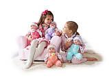 Пупс JC Toys с ягненком, мягкий, 38 см БРАК УПАКОВКИ, фото 2