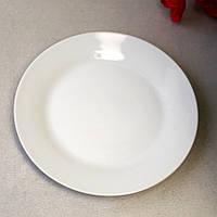 Белая круглая десертная тарелка для ресторанов HLS 19 см (4401)