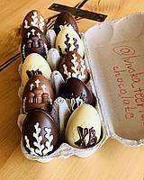 Шоколадный пасхальный набор. Пасхальные подарки. Шоколадный набор на Пасху.