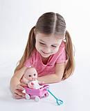 Пупс-малюк JC Toys з візком, 13 см ШЛЮБ УПАКОВКИ, фото 3