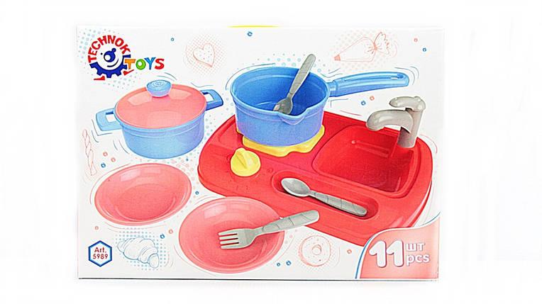 Посуд в коробці ТЕХНОК, фото 2