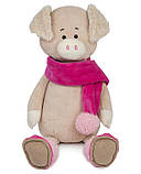 Свинка Ася в шарфику, 33 см, фото 2