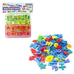 Букви і цифри магнітні COLORPLAST