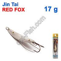 Блесна незацепляйка (двойник) Jin Tai Red Fox 6009-05S 17g 01