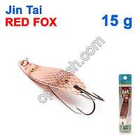 Блесна незацепляйка (двойник) Jin Tai Red Fox 6009-14S 15g 03